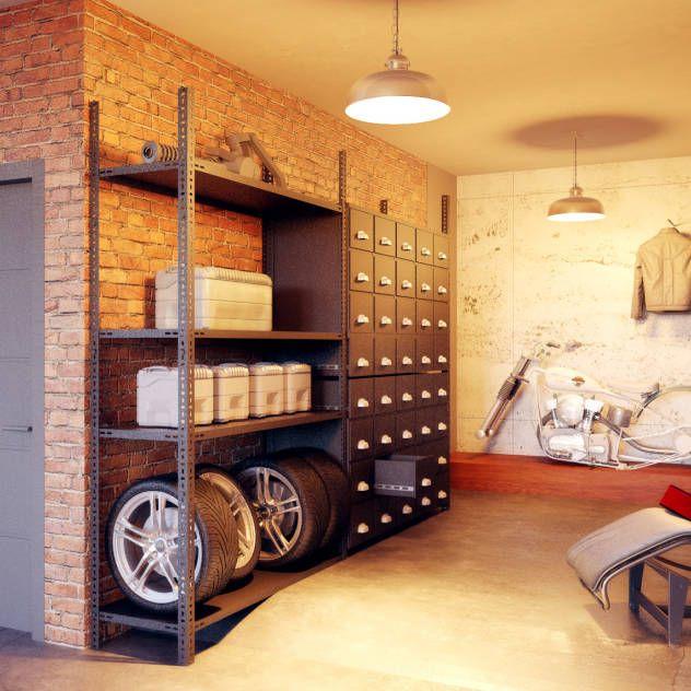 Eklektyczny garaż od Барнаш