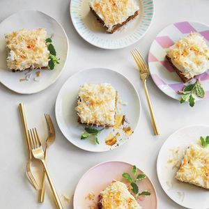 Carrot-Zucchini Cake with Coconut-Cream Cheese Frosting | MyRecipes.com