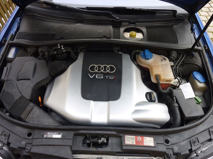 Under the hood of a 2004 Audi 2.5 TDI Quattro Avant - Audi A6 - Wikipedia