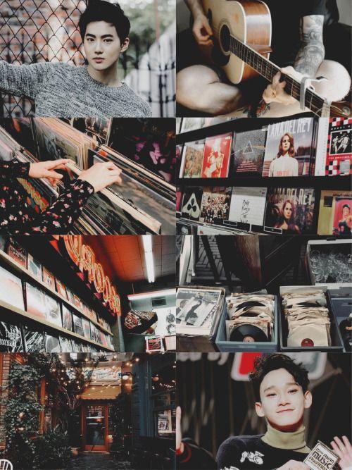 ☁️「exo!au」Music Store