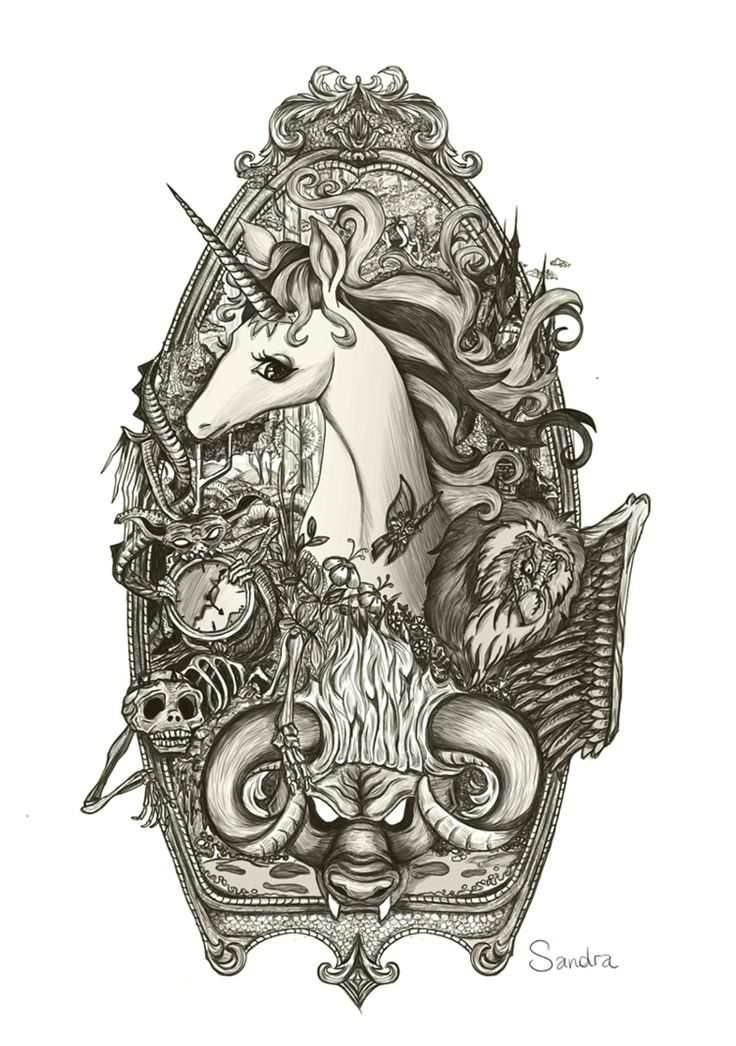 The last Unicorn by Brovvnie on DeviantArt