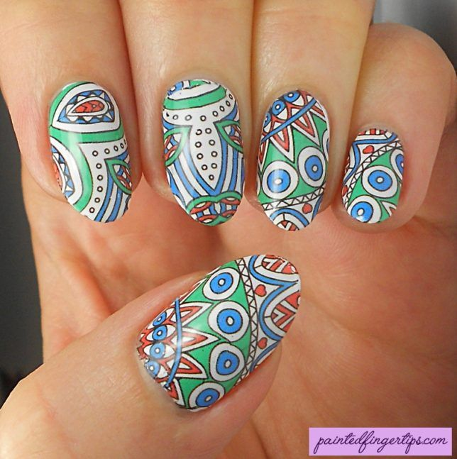Review: Water Decals from Nicole Diary   Painted Fingertips