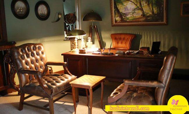 cesur ve güzel çiftlik evi - çalışma odası dekorasyonu