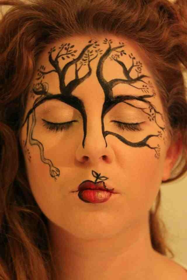 57 best images about fantasy make up on pinterest face for Gothic painting ideas