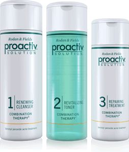 Proactive - I didn't start having skin problems until my 20s, I'm now in my 30s and still using it.  BEST stuff I've ever tried for my acne.