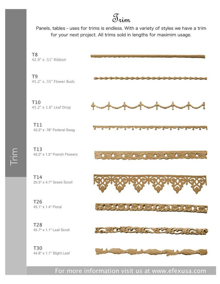 24 Best Efex Bendable Moldings Images On Pinterest