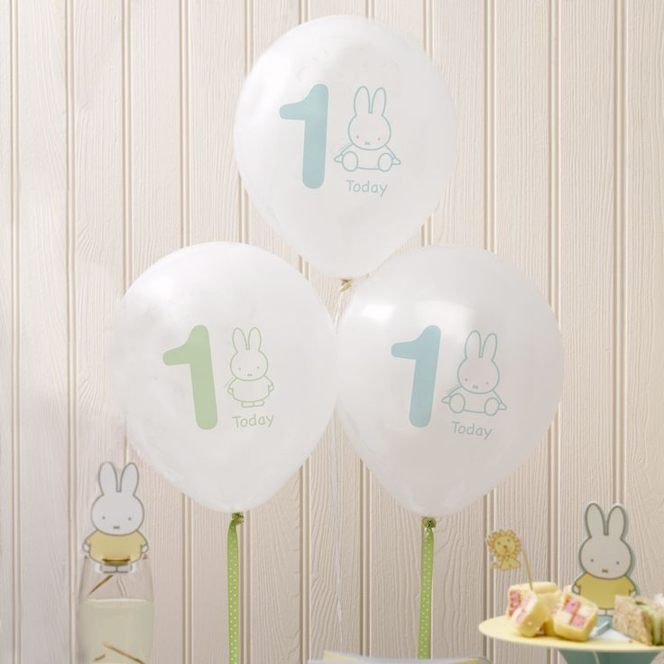 Baby Miffy 1 Today Balloons 22 best