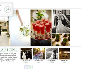 17 Best images about Wedding and Event Planning Website Designs on ...