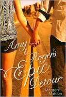 Amy and Roger's Epic Detour by Morgan Matson  (BCPL's Book News and Reviews: 5 Stars): Epic Detour, Morgan Matson, Books Worth, Summer Reading, Morganmatson, Roads Trips, Books Review, High Schools, Roger Epic