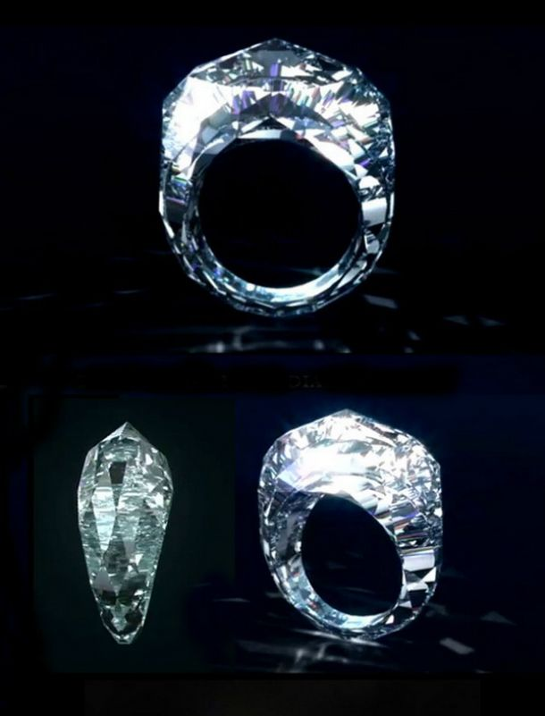 SEE HERE World's first ALL-Diamond Ring | Club Delux | Vip Luxury Club  http://goo.gl/Y4kwwm ‪#‎BestLuxuryJewelryInTheWorld‬ #ShawishJewellery