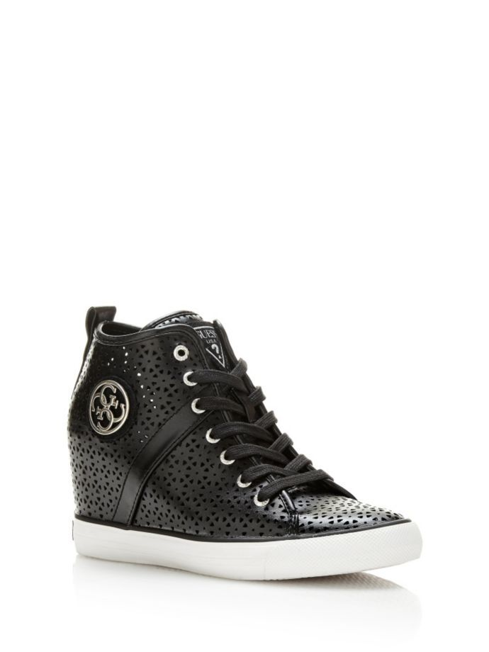 EUR115.00$  Watch here - http://vighv.justgood.pw/vig/item.php?t=1ui4ocl0102 - JILLY PERFORATED WEDGE SNEAKER
