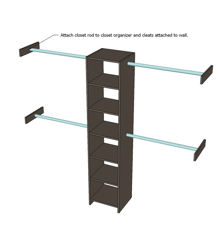 DIY Closet Organizer from One Sheet of Plywood
