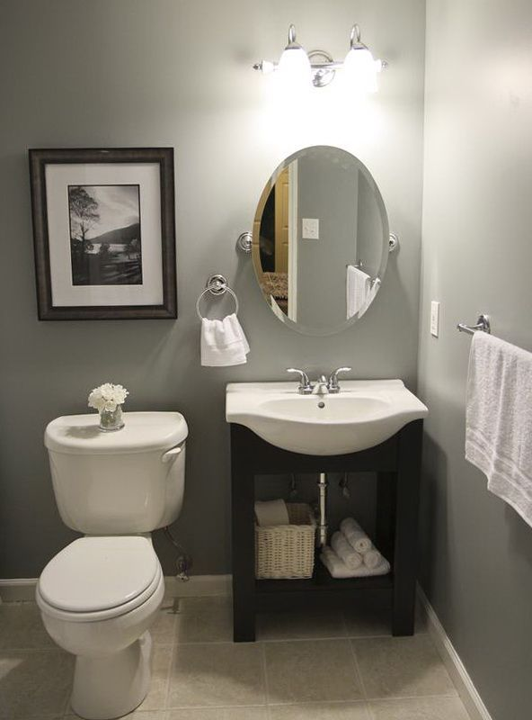 25 best ideas about small half bathrooms on pinterest for Pretty small bathroom ideas