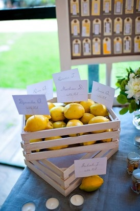 #jaune #mariage #yellow #wedding #plan de table