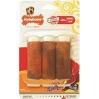 Nylabone Corp (bones) - Flavor Frenzy Powerful Chewers 3 Rib Bone