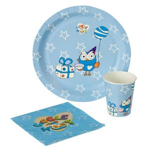 Giggle and Hoot Party Pack. This Giggle and Hoot Party Pack comes with 10 plates, 10 cups and 20 napkins, perfect for your Giggle and Hoot themed party. $19.99