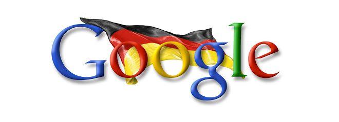 Google Doodle vom 03.10.2006 - Tag der Deutschen Einheit