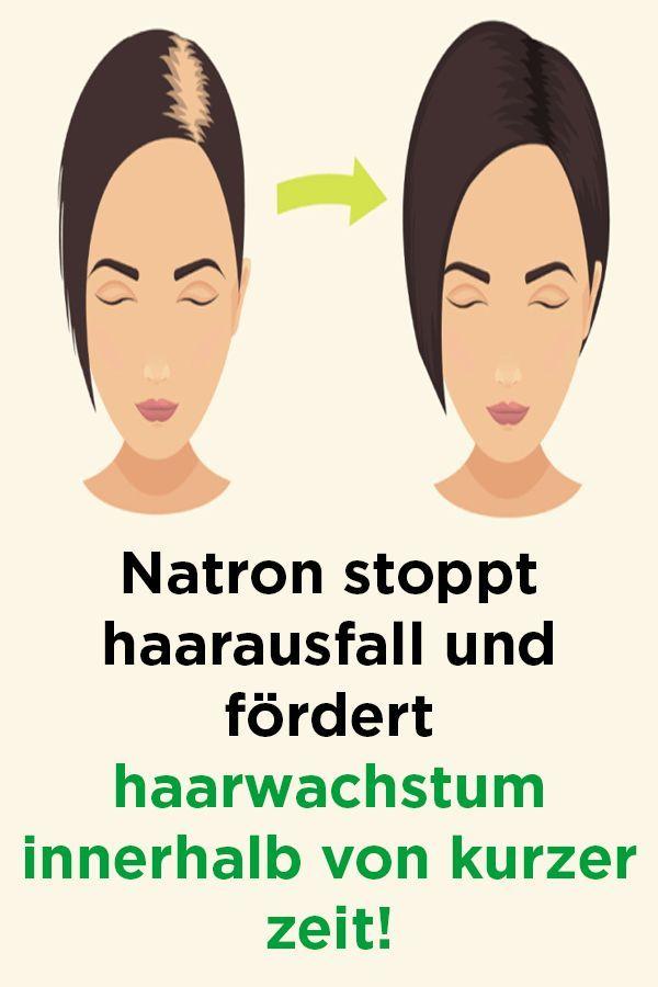 Natron stoppt haarausfall und fördert haarwachstu…
