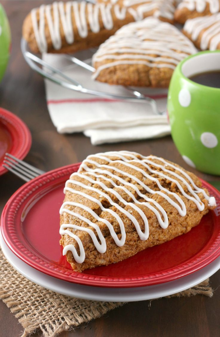 Gingerbread Scones {Whole Wheat} on MyRecipeMagic.com