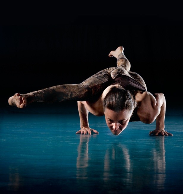 Emma Balnaves  http://www.shadowyoga.com/yoga.html#shadow_yoga