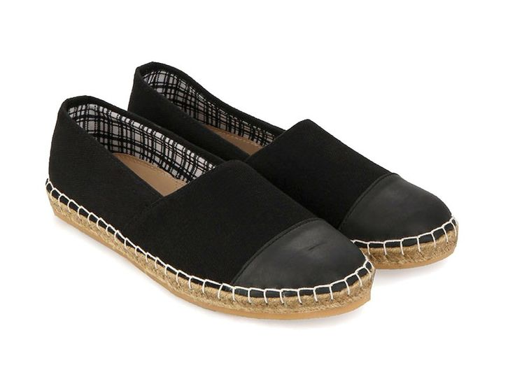 Mogens Casual Shoes by Justine. Slip on that made of canvas, almond toe, insole synthetic, rubber out sole, black canvas shoes with white stitching, pair this casual shoes with chino pants or short, perfect for casual wear. http://www.zocko.com/z/JH0tE