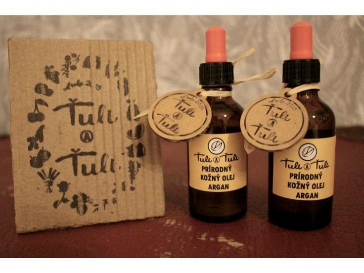 Prírodný kožný olej Argan