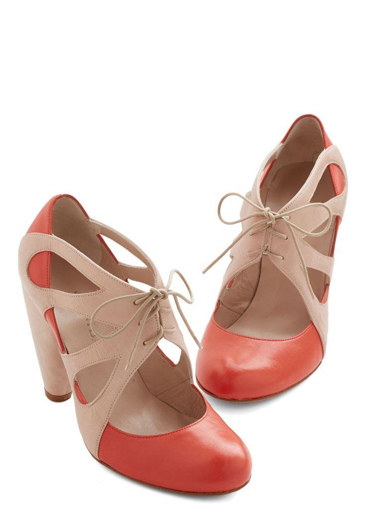 Dancing in the Park Heel | Mod Retro Vintage Heels | ModCloth.com