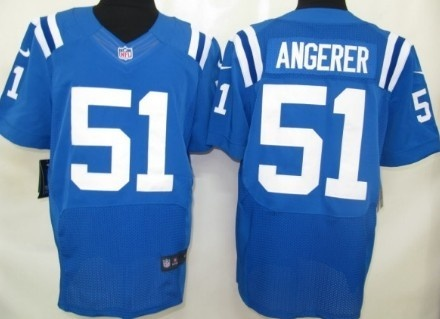 8e3696271 ... Nike NFL Elite Jerseys Indianapolis Colts Pat Angerer Blue,wholesale Nike  NFL Jerseys cheap, Women Nike Indianapolis Colts 51 Pat Angerer White ...