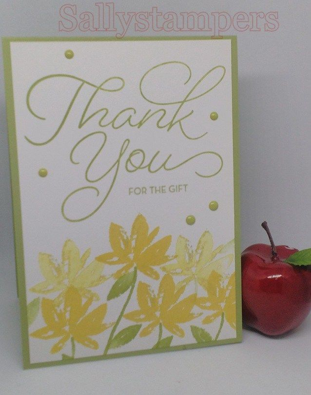 Celebrating Sale A Bration Blog Hop Note CardsThank You