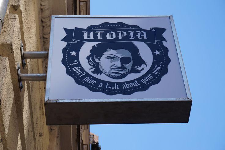 Utopia kültéri világítótábla