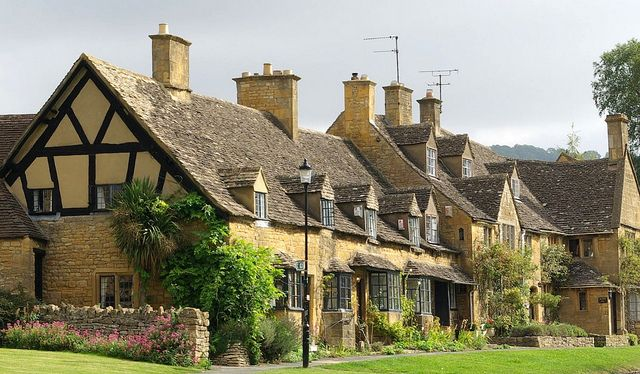 Broadway - Cotswolds. Been there, it actually is this gorgeous.