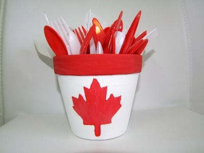 Canada Day Crafts For Kids!