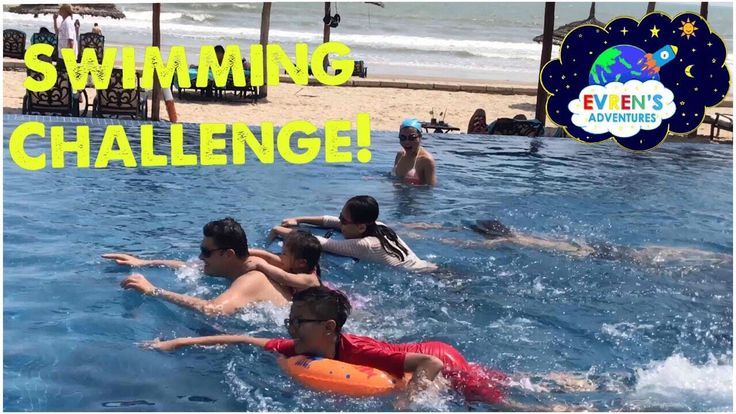 SWIMMING CHALLENGE! Kid Fun Game Challenge Surprise Toys Unboxing Evren Family Review. Thanks for Joiing Evren's Family in this Swimming Game Challenge on Family Fun Vacation Trip to Vietnam. It's super fun family activities in the pool on a hot summer day in Vietnam. The winner gets the Surprise Toys. Can you guess who won the race is!! Great Kid Video for children who loves swimming and opening toy surprise! Please SUBSCRIBE http://www.youtube.com/c/EvrenAdventures?sub_confirmation=1