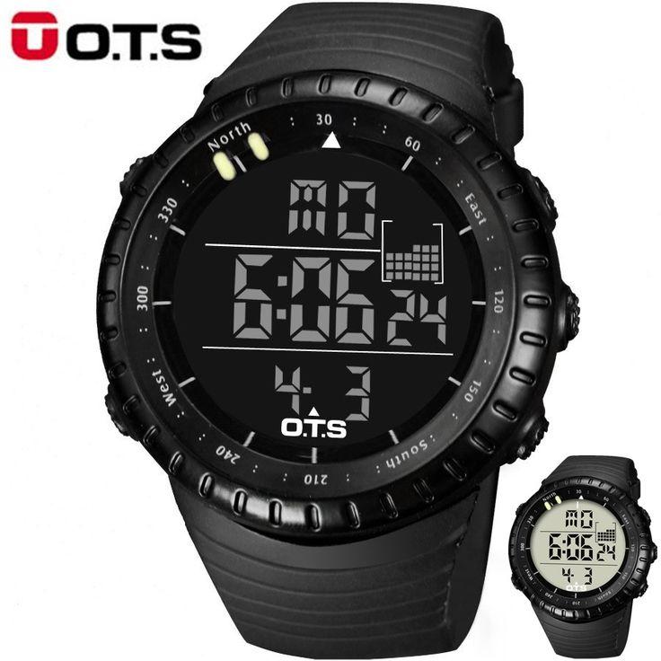 US $79.95 - relogio masculino Top Brand Fashion Watch Men Waterproof LED Sports Military Watch Digital Swimming Climbing Outdoor Men Watches