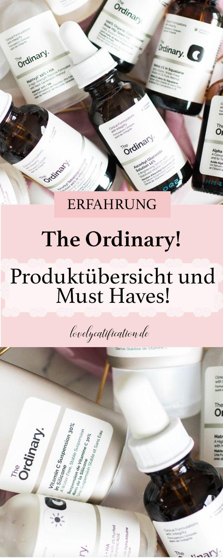♥♥♥ The Ordinary – Produktübersicht und MUST HAVES! ♥♥♥