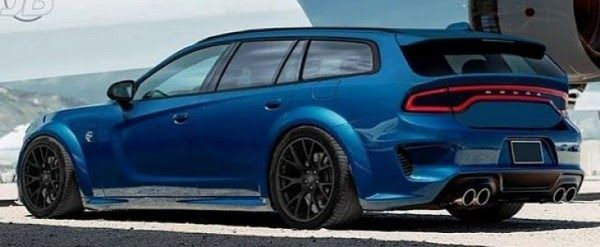 2020 Dodge Charger Hellcat Widebody Wagon Rendered As Dodge 2020 Dodge Charger Widebody Concept Walkaround New Charge In 2020 Dodge Charger Dodge Charger Awd Dodge