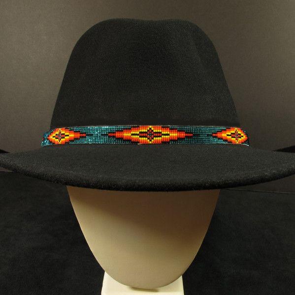 Turquoise Beaded Hat Band – Waci'-ci Trading Co.