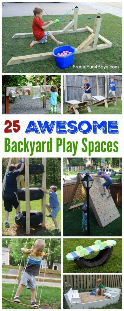 The best Backyard DIY projects for your outdoor playground