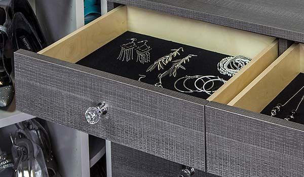 Velvet Drawer Liner Drawer Liner Closet Accessories Closet Companies