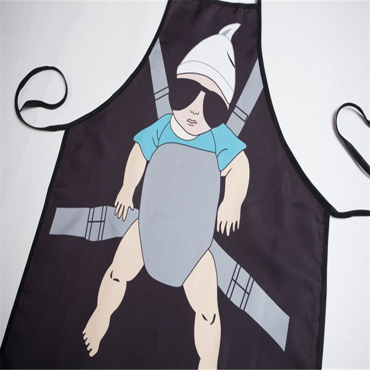 Sexy Daddy Aprons Funny Aprons Creative Personality Korean Cute Couple Cartoon Aprons