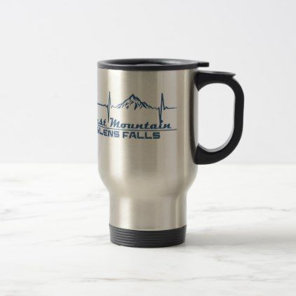 West Mountain  -  Glens Falls - New York Travel Mug - fall decor diy customize special cyo