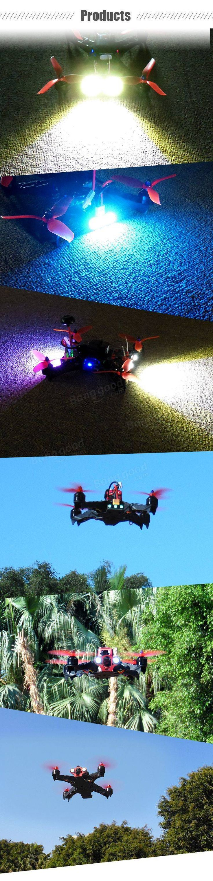 Eachine Racer 250 PRO FPV Drone Blheli_S 20A F3 5.8G 600mw 32CH VTX Built-in OSD 1000TVL Cam PNP