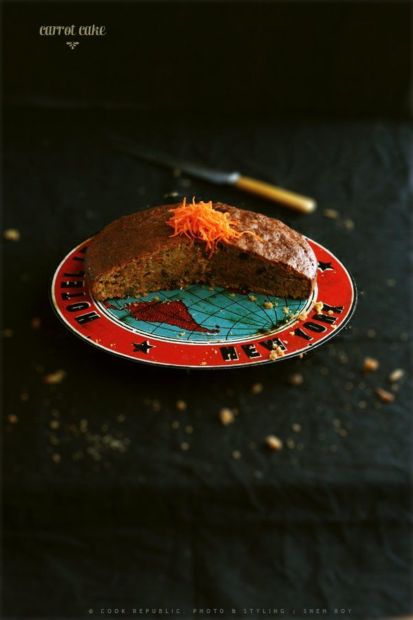 Classic Healthy Carrot Cake