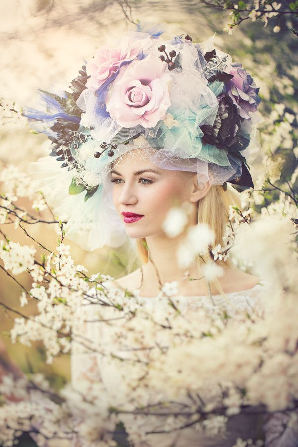 ❀ Flower Maiden Fantasy ❀ beautiful photography of women and flowers - dreamy