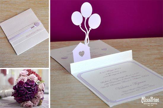 Scegliere le partecipazioni: meglio tradizionali o 3D? #inviti #matrimonio #wedding idea originale