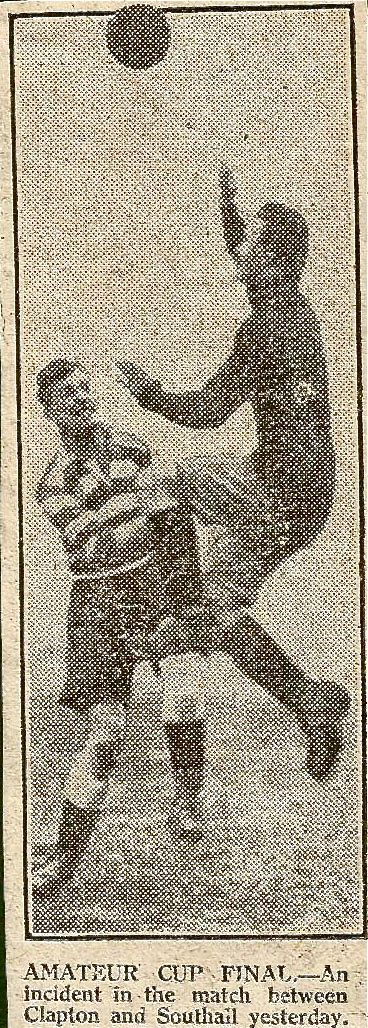 Clapton FC vs Southall FA Amateur Cup Final 1925