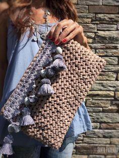 Los diferentes tipos de trapillo y cómo usarlos | Santa Pazienzia ☂ᙓᖇᗴᔕᗩ ᖇᙓᔕ☂ᙓᘐᘎᓮ http://www.pinterest.com/teretegui