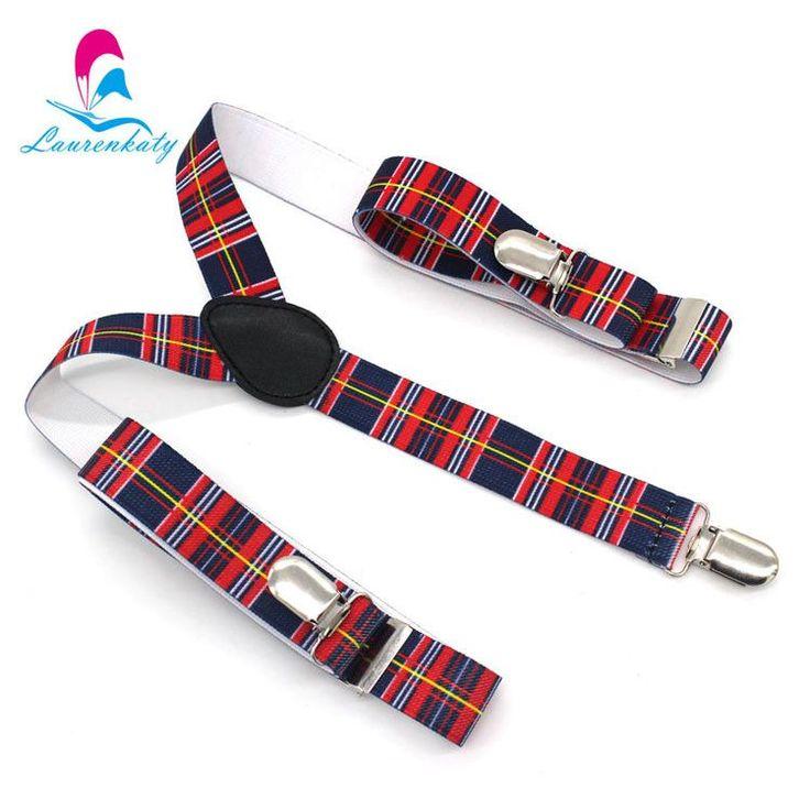 Unisex 2.5cm Width Fashion 18 Colors Polyester Men's Print Suspenders Women's 3Clip-on Braces Y-back Elastic Suspenders WBD7100