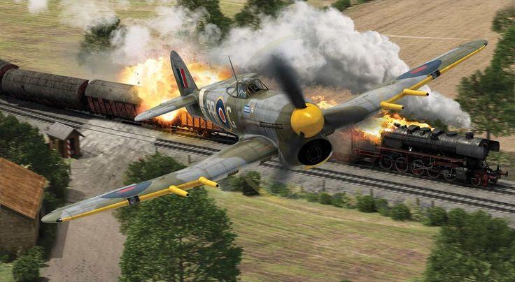 Hawker Typhoon Mk Ib by Adam Tooby