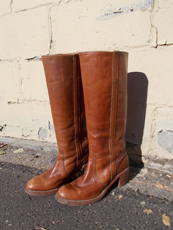 vintage frye boots size 8  70s/80s